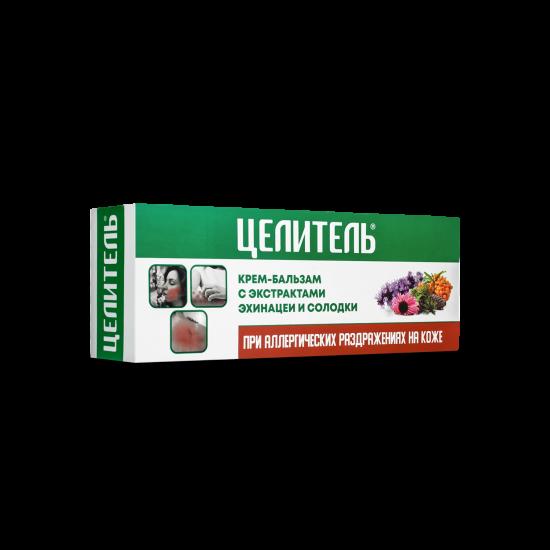 Cream-balm with echinacea and licorice extract for allergic skin irritations «Celitel», 70 g