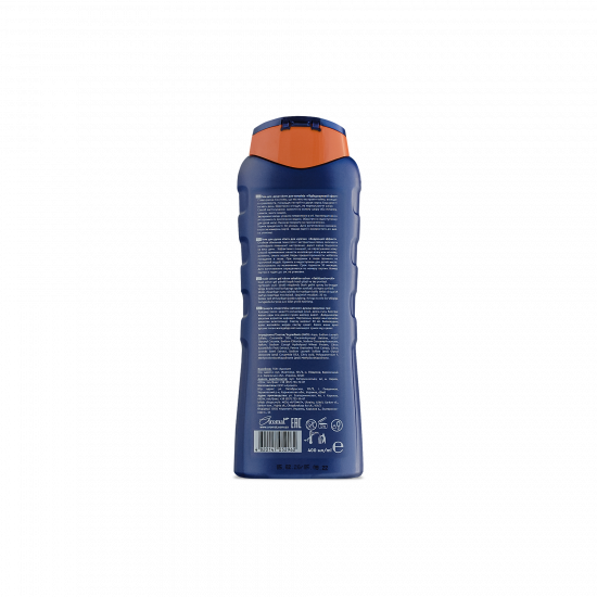 Shower gel HIT «Strong. Invigorating effect», 400 ml