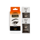 """Cream-paint for eyebrows and eyelashes """"Permanent Color"""" with an oxidizer, tone black (1.10)"""