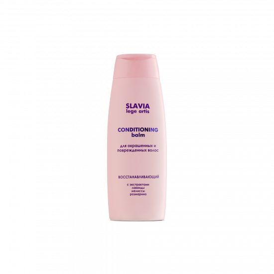 "Shampoo ""SLAVIA Lege Artis"" restoring for colored and damaged hair, 400 ml"