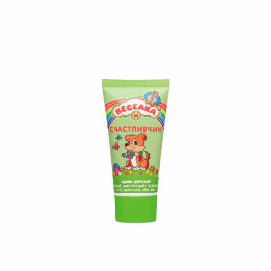 """Protective cream for children against bad weather, softening """"VESELKA AND LUCKY"""", 50 g"""