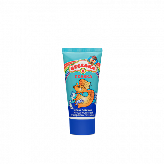 """VESELKA AND SKAZKA"" children's hypoallergenic soothing cream for sensitive skin, 50 g"