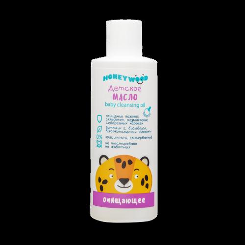 Baby cleansing oil, Honeywood, 200 ml