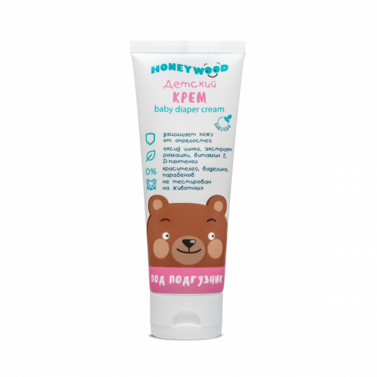 Baby diaper cream, Honeywood, 70 g