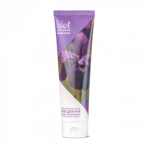 Perfumed hand cream «Express moisturizing. Amazing iris» Islet, 90 g (100 ml)