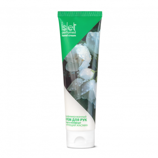Perfumed Hand Cream «Tone and comfort. Enchanting jasmine» Islet, 90 g (100 ml)