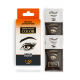 """Cream-paint for eyebrows and eyelashes """"Permanent Color"""" with an oxidizer, tone graphite (1.00)"""