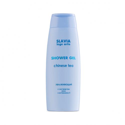 "Shower gel ""SLAVIA Lege Artis"" moisturizing Chinese tea, 400 ml"