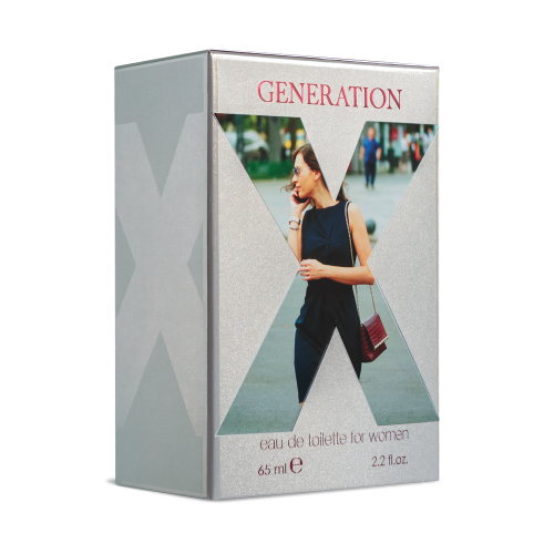 Generation X Eau de Toilette for women, 50 ml